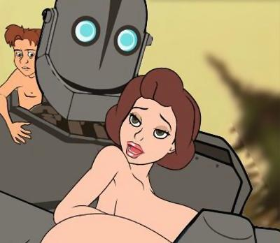 Секс Игра Iron Giant