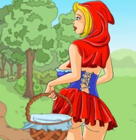 Red Riding Hood: The Gloomy Forest